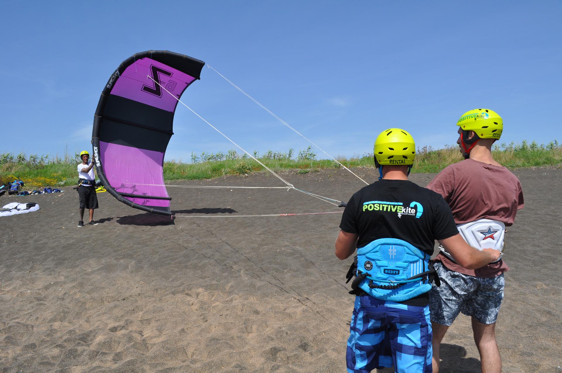corso lezione kitesurf