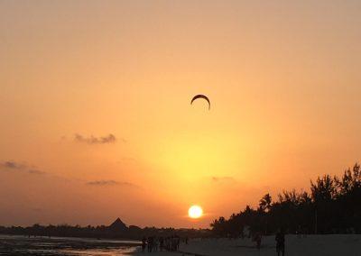 kenya al tramonto
