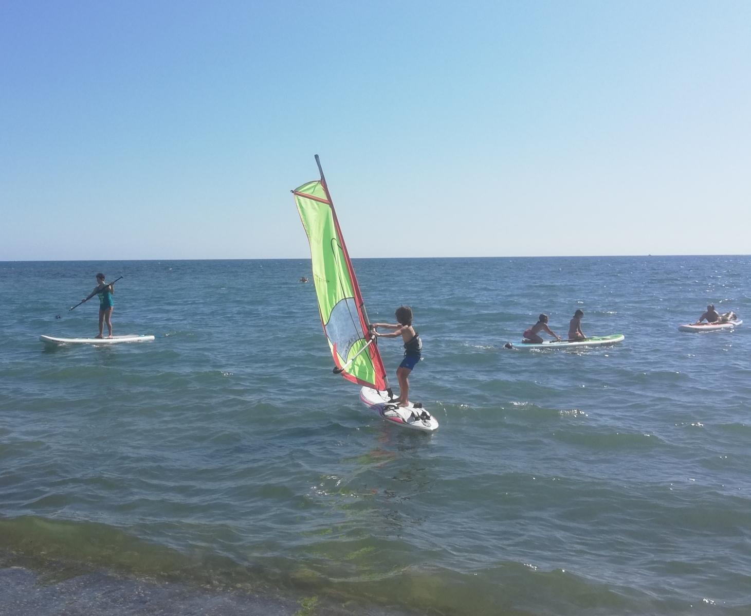corso windsurf ragazzi